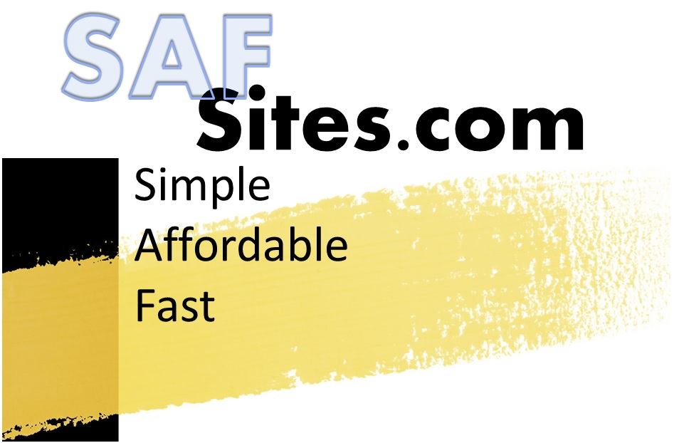 Simple, Affordable, Fast Sites